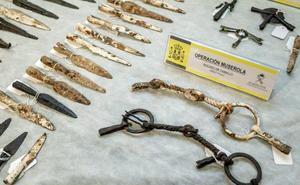 Un cántabro, investigado por participar en el expolio de 92 piezas celtibéricas en Burgos
