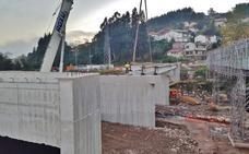 La obra en el puente de Los Corrales se acelera para estar acabada en noviembre