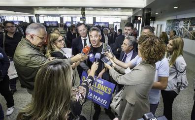 Un alemán de madre cántabra, el pasajero ocho millones de Ryanair