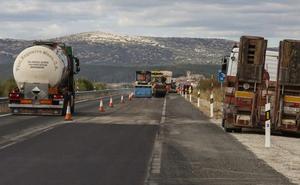 Fomento inicia las obras de reparación del tramo Aguilar-Palencia de la A-67