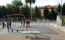 El complejo deportivo de La Lechera estrena un gimnasio al aire libre