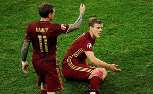 Detenidos por vandalismo los futbolistas Mamáev y Kokorin
