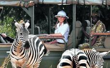 El polémico sombrero 'colonial' de Melania Trump