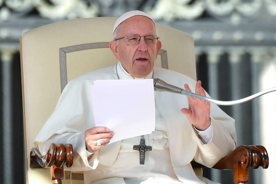 El Papa equipara el aborto a recurrir a un «asesino a sueldo»