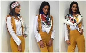 Este otoño luce pañuelos a la moda de Roberto Torretta