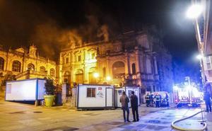El Ayuntamiento sanciona a SIEC con 46.000 euros por el incendio del Museo de Arte Moderno