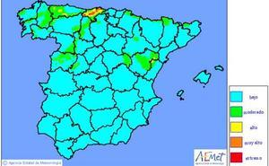 Cantabria, en riesgo extremo de incencios forestales en plena surada