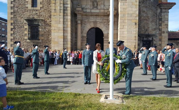 Celebración del Día del Pilar en los cuarteles de la Guardia Civil de toda Cantabria