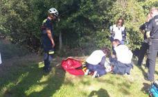 Una senderista sufre un ictus en el Monte Buciero y es evacuada en helicóptero