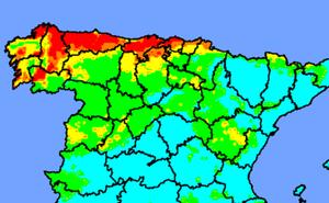 Cantabria ha registrado este sábado cuatro incendios forestales y ya están todos extinguidos
