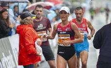 Fikre y Zulema Fuentes-Pila le plantan cara a la lluvia y ganan los 10 Kilómetros de Santander