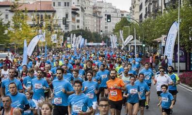 Los 10 kilómetros de Santander se disputan en el centro de la ciudad a partir de las 11.00