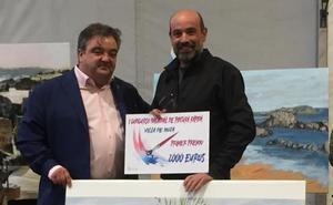 Carlos Espiga gana el primer premio en el Concurso de Pintura Rápida