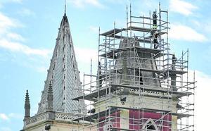La iglesia de Cóbreces estrenará torre