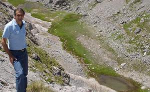El Gobierno descarta recuperar el lago Ándara por posibles problemas de contaminación