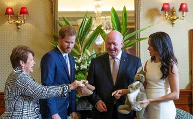 Australia da los primeros regalos al bebé del príncipe Enrique y Meghan