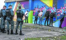 Espectacular detención en El Astillero de los integrantes de una banda croata