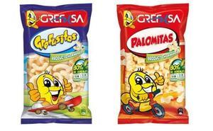 Retiran lotes de gusanitos y palomitas de la marca Grefusa vendidos en Cantabria