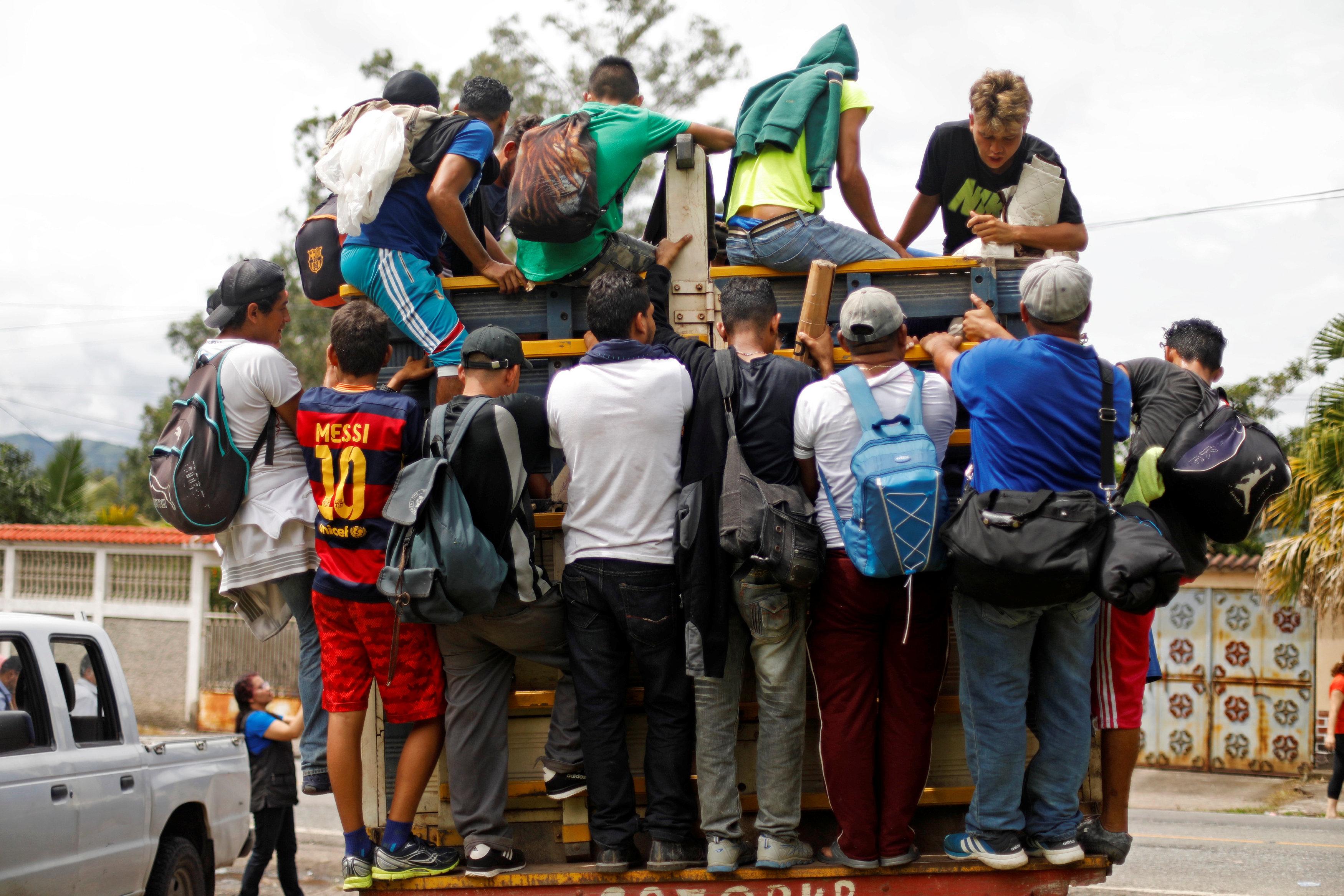 Detenido en Guatemala el líder de la caravana de migrantes que se dirige a EE UU