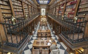 Un estudio evalúa el estado de la Colección de la Biblioteca de Menéndez Pelayo