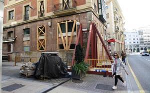 Los vecinos del bloque desalojado en José María Pereda volverán a sus casas cuatro meses después