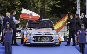 Iván Ares, primer líder del Rally Blendio Santander-Cantabria