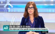 Ana Rosa desvela que superó un cáncer de mama hace ocho años