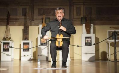 El rabelista y compositor Chema Puente será homenajeado por «su compromiso con Cantabria»