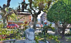 Los Corrales licita la mejora y mantenimiento de parques y jardines