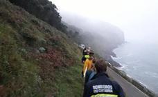 Rescatadas sanas dos jóvenes de Valladolid y Salamanca enriscadas en el monte Buciero