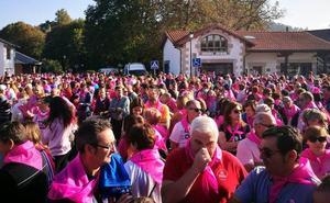 Reocín se viste de rosa contra el cáncer
