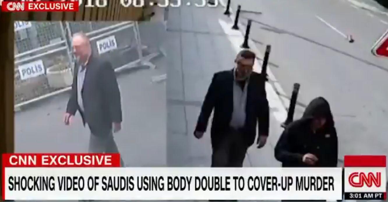 Un vídeo muestra a un supuesto doble de Khashoggi salir del Consulado saudí en Estambul