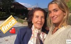 María Pombo se casará en la Finca de San Juan de Castañeda