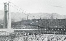 El valle de Buelna recuperará el puente colgante sobre el Besaya
