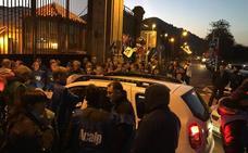 Seguimiento masivo en la primera jornada de huelga en El Dueso