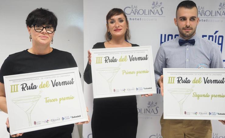 Finalistas de la III Ruta del Vermut de Cantabria
