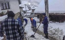 Cantabria activará hoy el aviso amarillo por nevadas, que afectarán sobre todo a Liébana