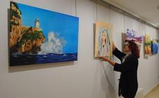 Los alumnos de la Escuela Municipal de Pintura de Santoña sacan a la luz sus obras