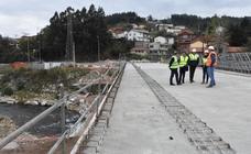 El puente Renero abrirá al tráfico en febrero de 2019