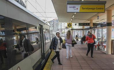 Las nuevas frecuencias elevan a 110 las conexiones diarias por tren entre Santander y Torrelavega