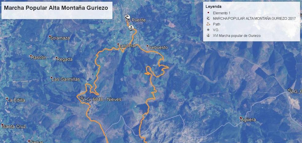La Marcha Popular de Alta Montaña de Guriezo, un trail veterano