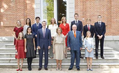 La reina Sofía reúne a toda la familia en su 80 cumpleaños