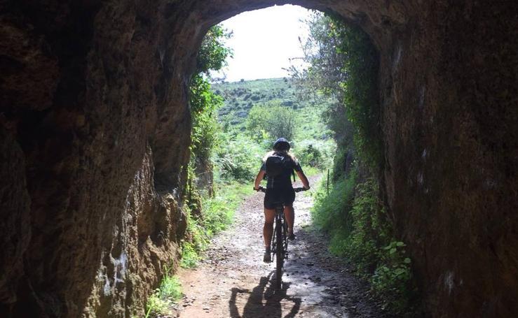 Ruta por la antigua mina de Udías