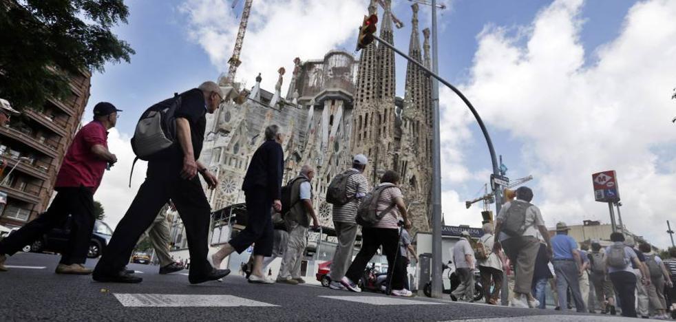 La llegada de turistas retoma las subidas y crece en septiembre