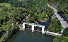 Un nuevo paseo peatonal unirá Cades y la presa de Palombera