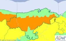 Cantabria entra esta tarde en alerta naranja por el viento