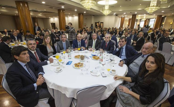 Público asistente al Foro Económico de El Diario Montañés