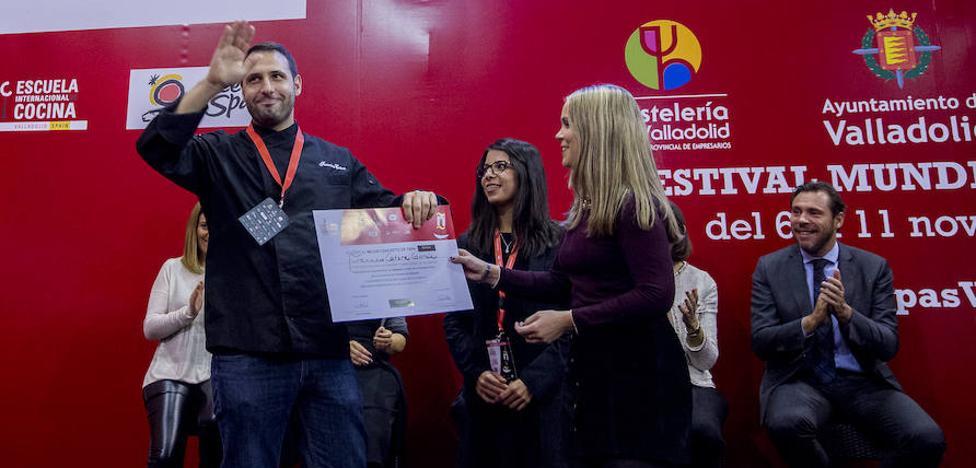 El chef cántabro Francisco Cotera, accésit al mejor concepto de tapa en el Concurso Nacional