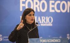 La alcaldesa Gema Igual, en el Foro Económico de El Diario Montañés