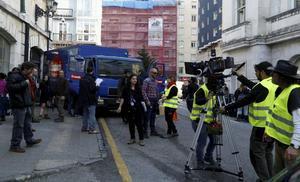 Días de rodaje de 'La Verdad' en Santander